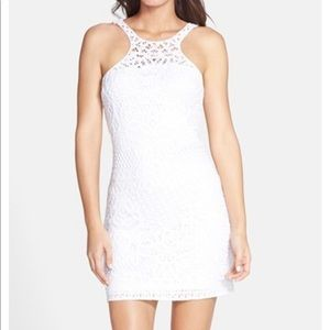 "Lilly Pulitzer ""Jaimie"" Cutaway Crochet Dress"